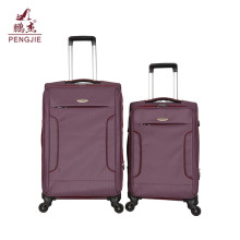 2018 New design practical capacity soft luggage