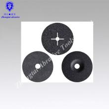 """Disco de fibra de carboneto de silício flexível 4.5 """"fábrica P60"""