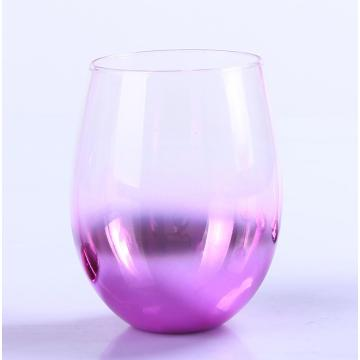 Ombre Metallic Purple Wine Glass Atacado