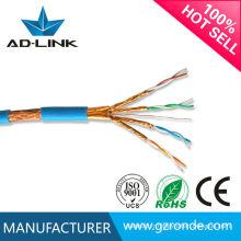 Câble RJ45 Cat6a Lan Cable / Cat7 Patch Cord Cable Ethernet