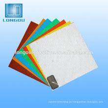 impressão ou tela de impressão rolo de folha de favo de mel de vinil reflexivo