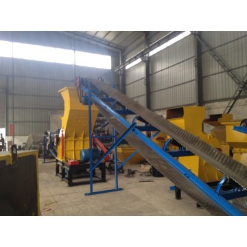 memo mobil Shell Crusher Recycling Equipment