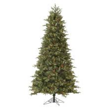 Artificial Árvore De Natal Com Decoração Glass Craft Christmas Light (TU75.300.01)