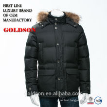 Luxury Brand Men Clothing Raccoon Fur Down Jacket Feather Shaoxing Manufacturer