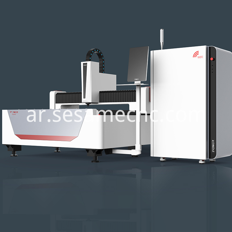 cnc fiber laser metal cutter Machine