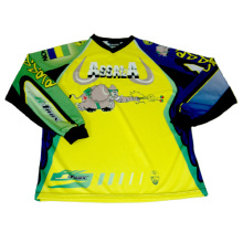 100% Polyester Motorcycle Jersey