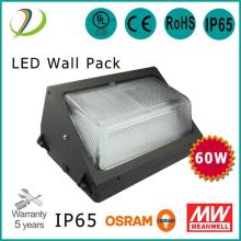 ETL Listado de 100W LED Wall Pack Light