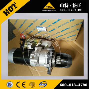 S6D125 MOTOR DE ARRANQUE ASS'Y 600-813-4790