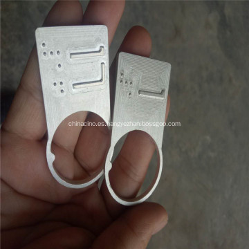Fresado de grabado CNC Pieza de repuesto y panel de aluminio