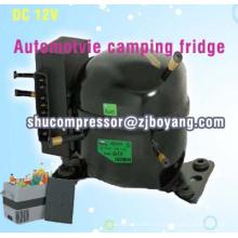 congelador refrigerador solar casero del refrigerador del dc 12v 24v con el compresor del refrigerador 12v