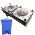 aluminium mold maker custom precision molding plastic injection garbage bin mould