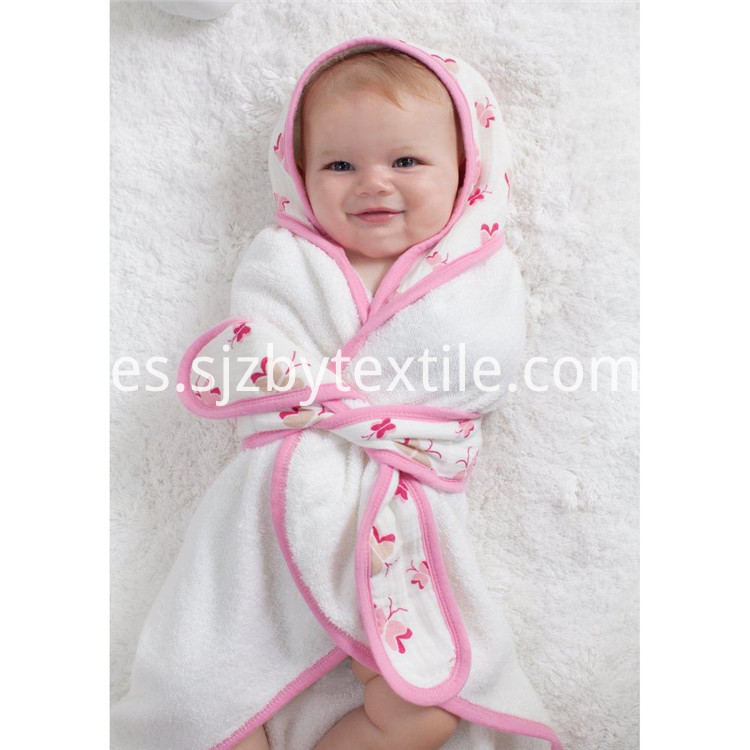 Microfiber Baby Hooded Towel