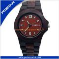Venda quente de madeira impermeável Ladies Watch pulseira de relógio com alta qualidade