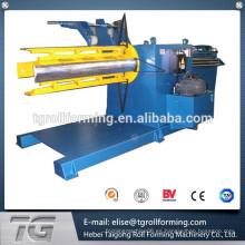 Automático de color Steel Coil Decoiling Maquinaria muy fácil de usar