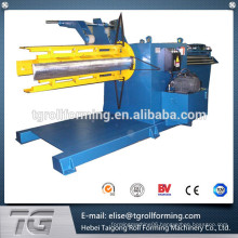 3,6,10,15,20,25,30,40 tons heavy hydraulic material decoiler