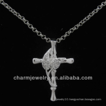 wholesale crystal Cross pendant New design PSS-016