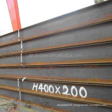 304 stainless steel h beam/structural steel h beam/h beam size chart
