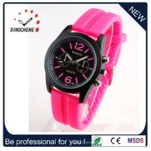 Женева часы, часы relojes Мухер наручные часы, женщины платье часы (ДК-374)