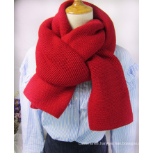 Womens Mens Unisex Multiple Style Neck Warmer Thick Cashmere Feel Winter Knitted Scarf (SK130)