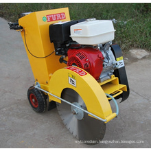 Walk behind gasoline engine asphalt road cutter machine for surface  FQG-500