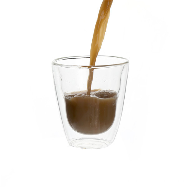 Double Wall Glass Espresso Coffee Cup