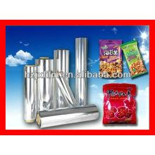 Película metalizada BOPP para envasado de alimentos
