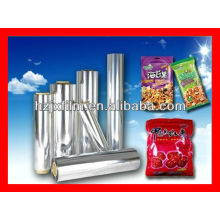 Película BOPP metalizada para embalagens de alimentos