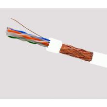 SFTP CAT6 LSZH Kabel Fluke getestet Soild Bare Kupfer weiß