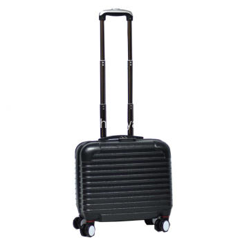 Upright wheeled carry on ABS luggage