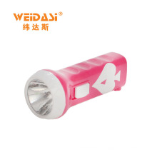 Direct factory online powerful plastic manual rechargeable flashlight for sale
