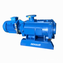 vacuum pump for drying power transformers