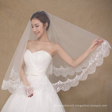 Simple Design One Layer Wedding Bridal Veils