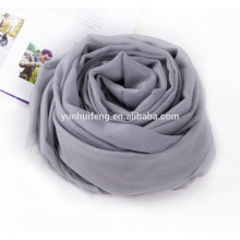 very soft high quality cashmere shawl solid color