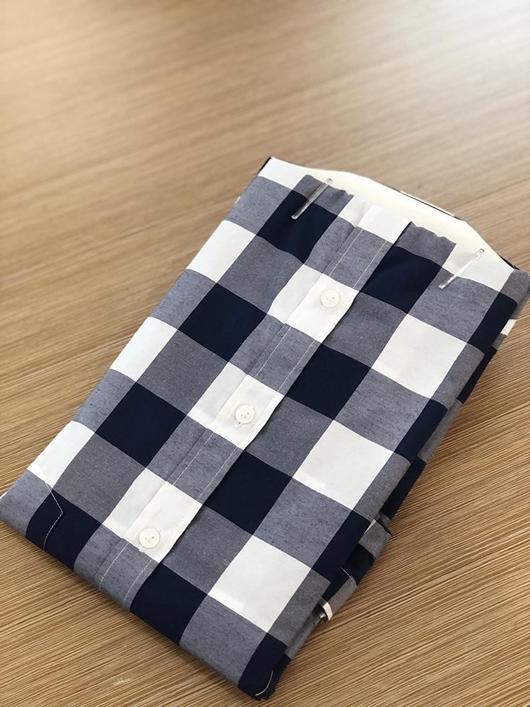 Yarn dyed shirt