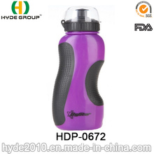 500ml BPA Free Plastic Sport Water Bottle with Straw, PE Plastic Sport Water Bottles (HDP-0672)