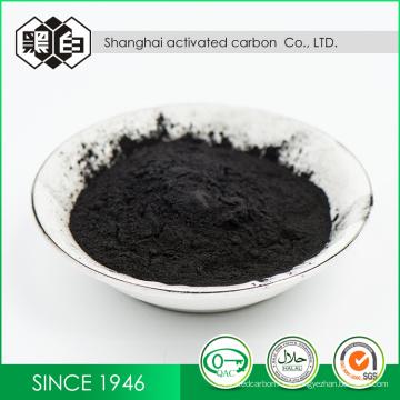 Precio de carbono activado granular de la fórmula química de alta calidad del fabricante