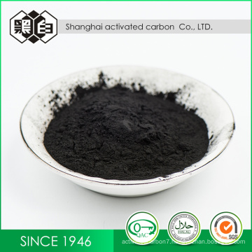 Wood base activated carbon as oxidation catalyst for the manufacture of herbicide