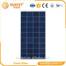 125w 120w solar panel price india for ground solar power panel system