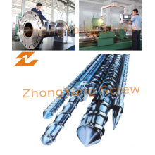 Single Bimetallic Screw Barrel Injection Screw Barrel