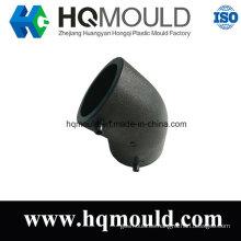 Tubo de inyección de plástico de ajuste de codo de precisión