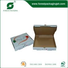 Venda quente caixa de pizza de papelão ondulado