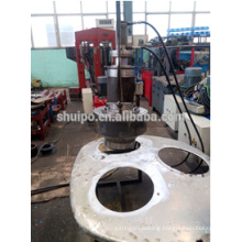 High Quality Automatic Flange Forming Machine for Tank Trailer Manhole
