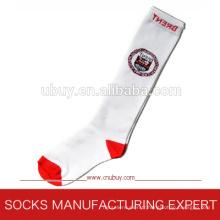 100% coton de chaussettes à longue école (UBUY-125)