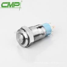 Botón de metal CMP Interruptor autoblocante 12mm led verde