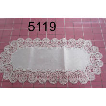 Lace Table Runner Hand Sewed Germany Taste 5119