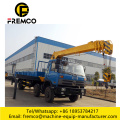 Self-loading Garbage Truck with Crane