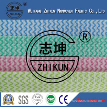Colorful Spunlace Nonwoven Fabric for Kitchen (38g-100g)