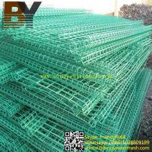 De alta calidad de PVC recubierto de alambre doble cerca de alambre