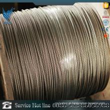 Uma grande quantidade de baixo preço de aço inoxidável 410L cabo de aço