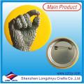 Werbe-Druckknopf Blechabzeichen mit Sicherheit Pin